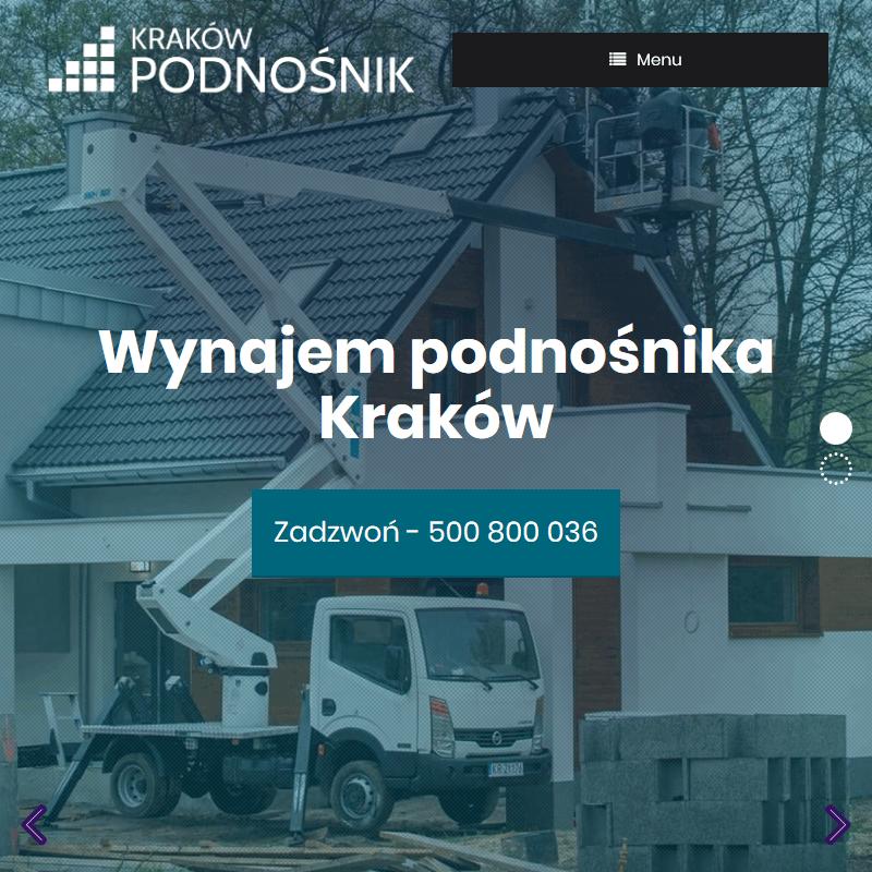 Podnośnik samochodowy - Kraków
