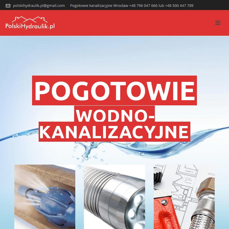 Awarie hydrauliczne 24h Wrocław