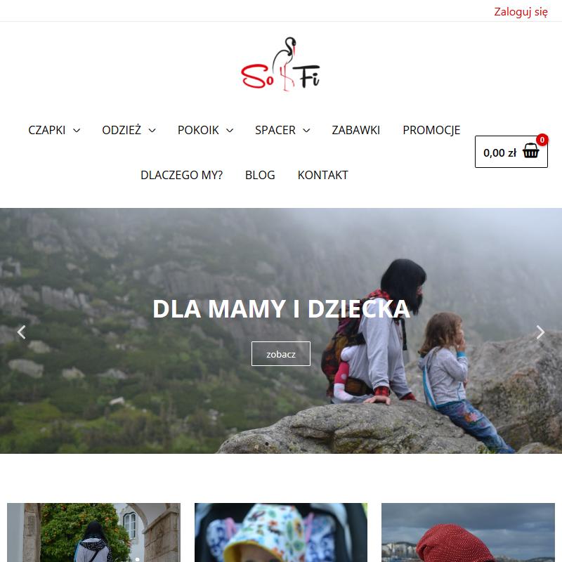 Ciepłe czapki dla dzieci online