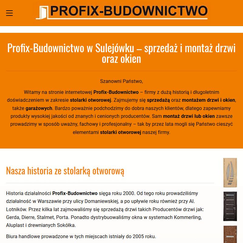 Drzwi pokojowe - Warszawa