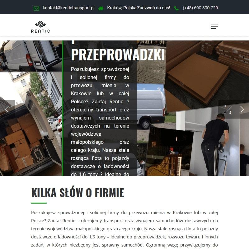 Przeprowadzki międzymiastowe – Kraków