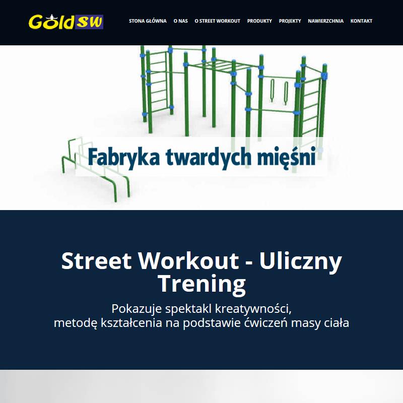 Drążki równoległe street workout