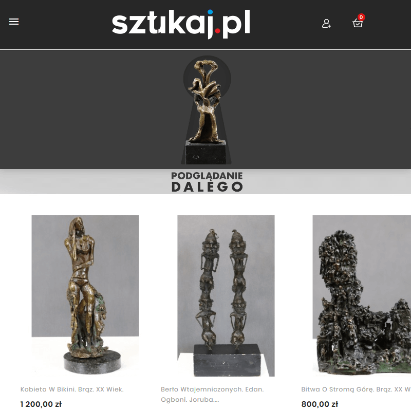 Rzeźby współczesne i sztuka plemienna Afryki