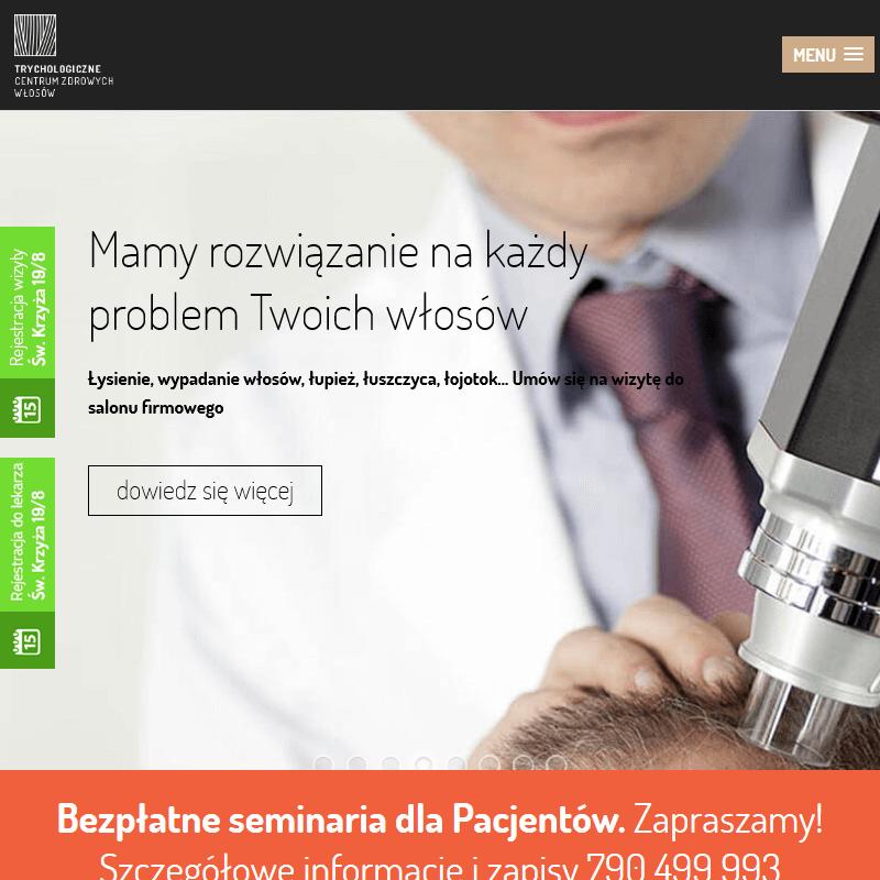 Leczenie łysienia androgenowego - Kraków