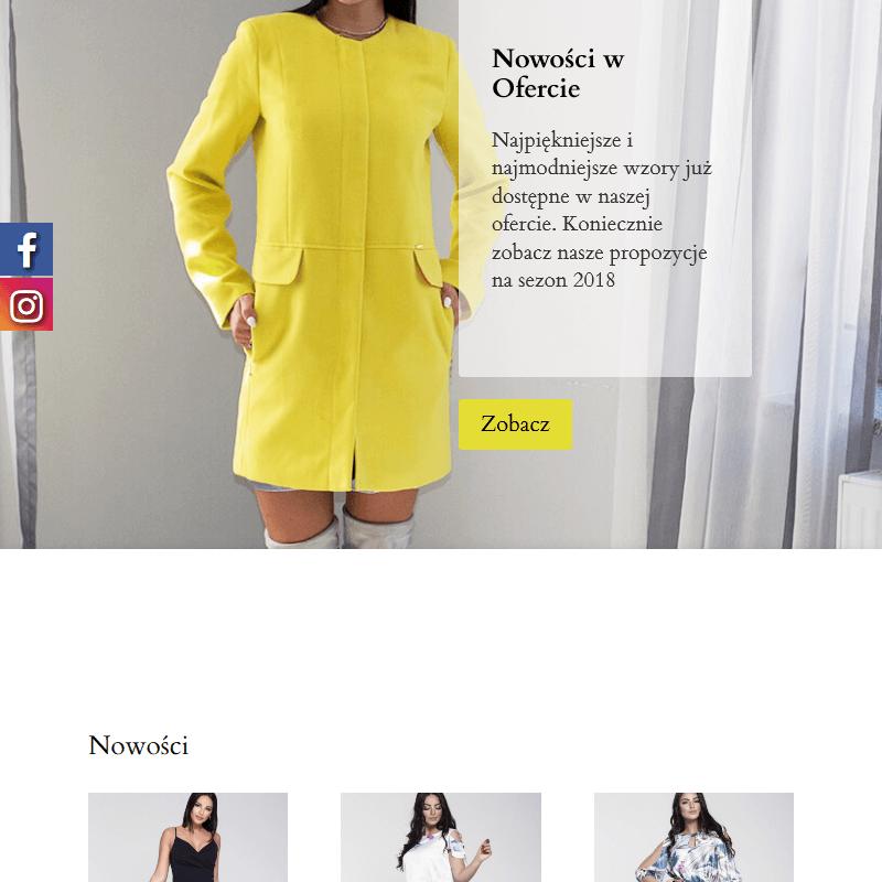 Wzorzyste sukienki dla kobiet