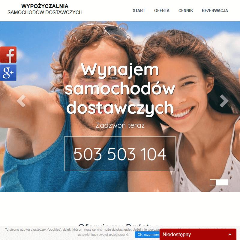 Wynajem auta dostawczego - Kraków